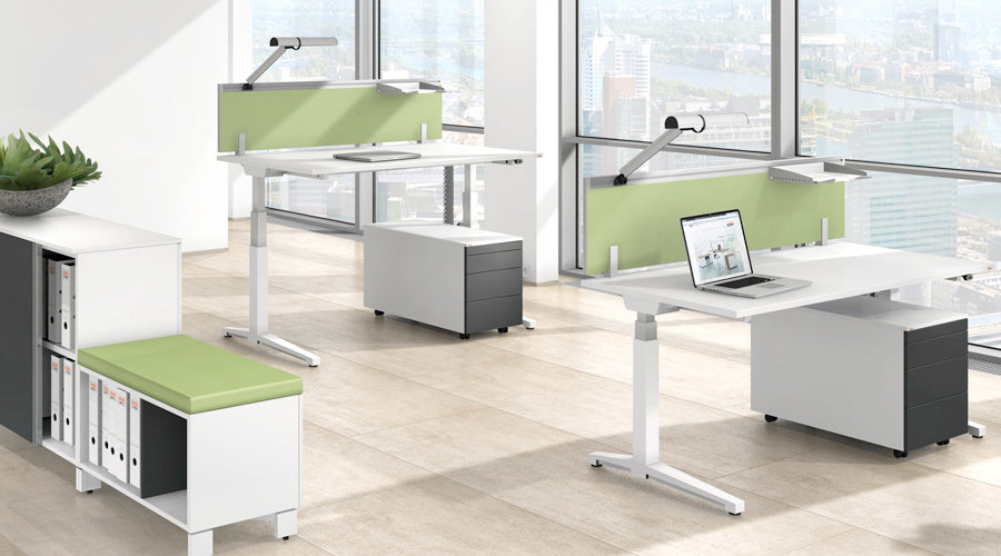 Can all the Ergonomic Furniture Please be up Standing…. And Everyone Else for that Matter, with our Sit and Stand Desks!