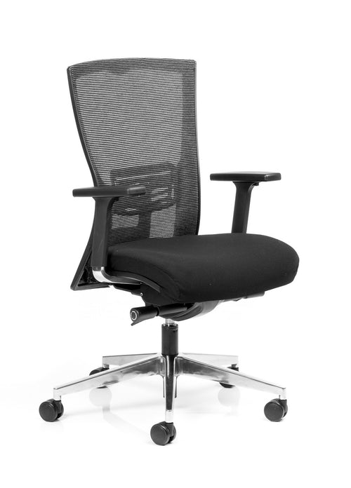 Domino Executive Mesh Back Chair with Synchronised Mechanism