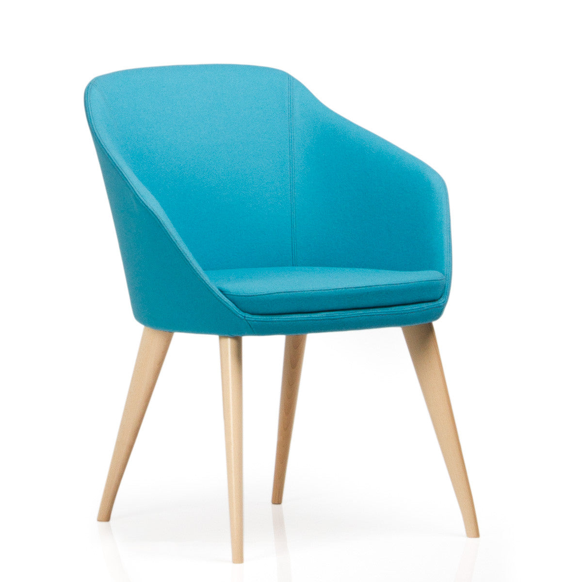 Annette Timber Frame Upholstered Tub Chair – love your office
