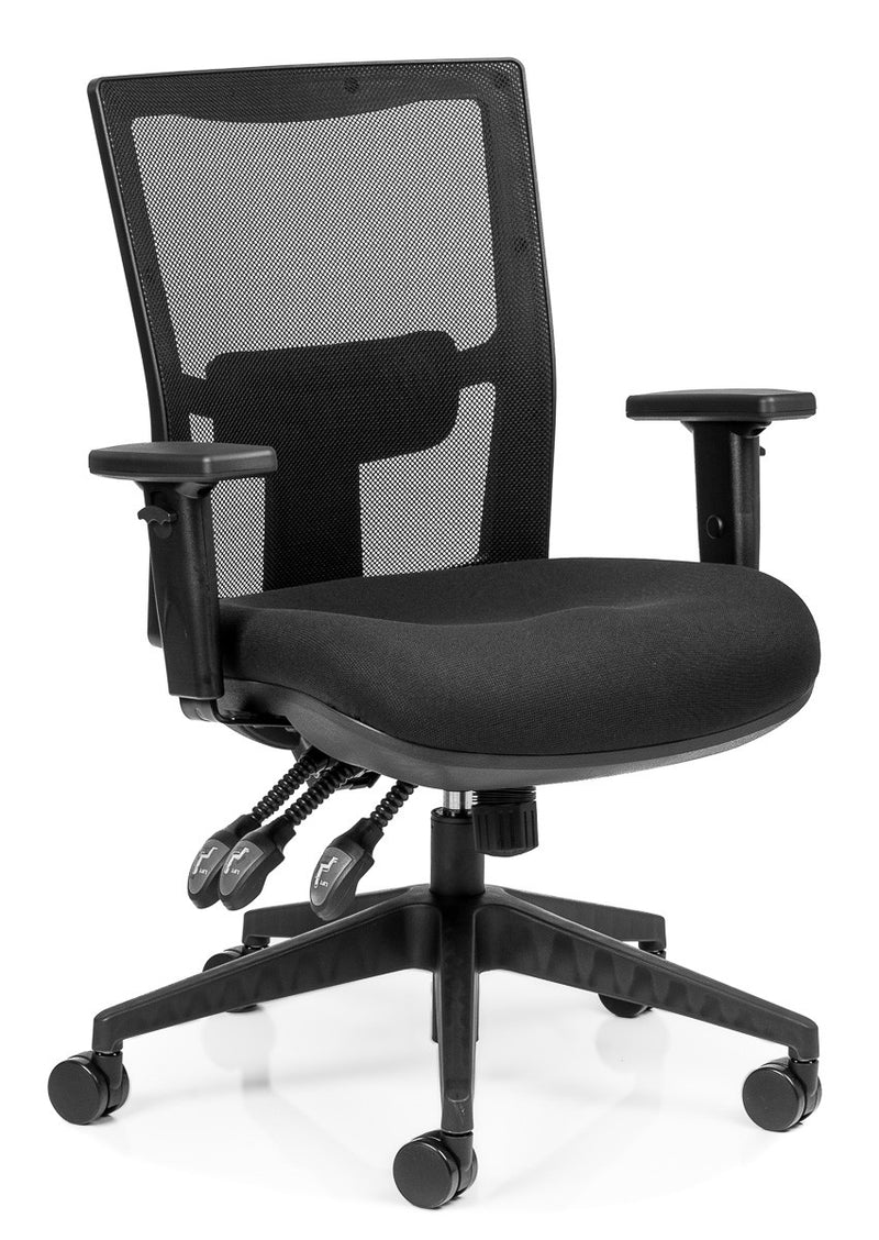 Team Air Sync Mesh Back Chair With Arms