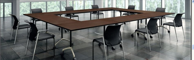 Matrix Flip Top Table for Training Rooms or Breakout Areas