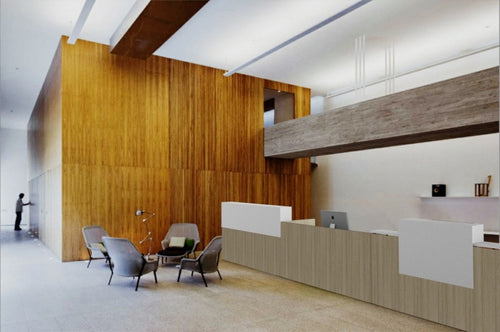 Mies Linear Reception Desk