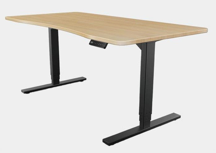 Offiz Sit and Stand Desk with 4 Memory Controller