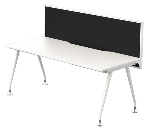 Origin Single Desk 1800X750 WIth Connect 30 Screen 1800X800