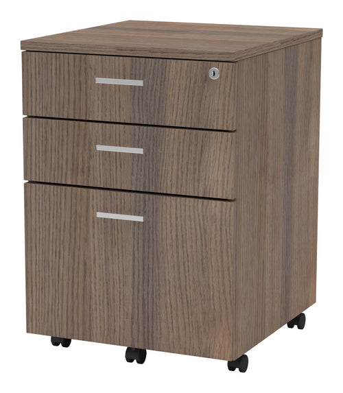 Symmetry Mobile Pedestal 2 Box Drawers, 1 File Drawer