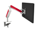 Zgo Single Monitor Arm in White or Silver