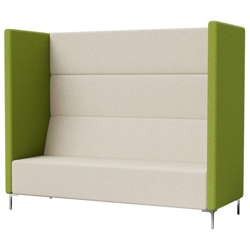 Yara Tall High Back 3 Seater Quiet Breakout Lounge