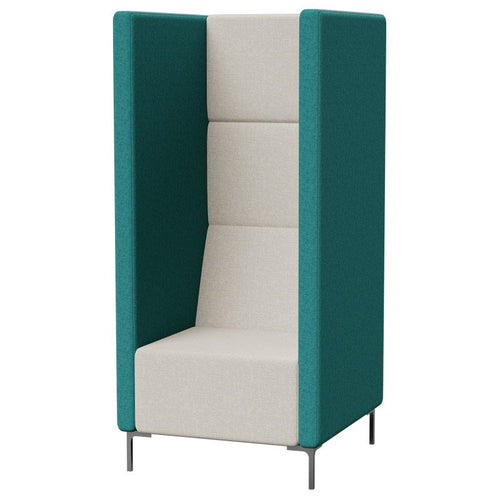 Yara Tall High Back Single Seater Quiet Breakout Lounge