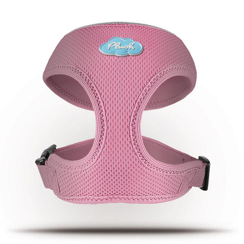 Basic Geschirr Air-Mesh Pink L