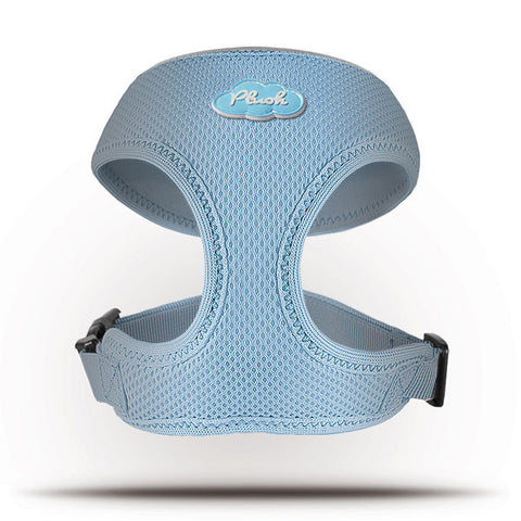 Basic Geschirr Air-Mesh Skyblue L
