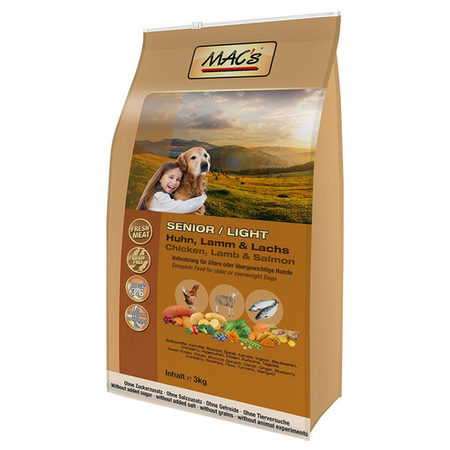 Mac´s Dog TR Senior/Light 3kg