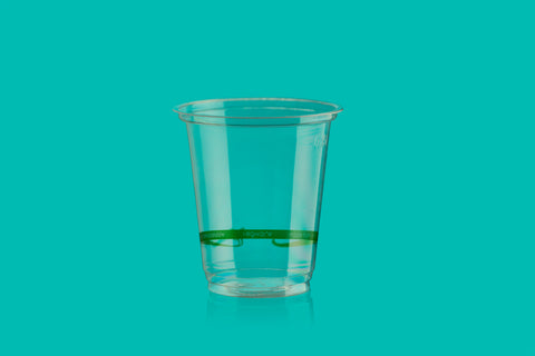 Vaso PLA fino compostable 7oz