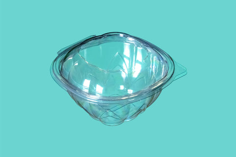 Envase 500ml Bowl Pet Tapa Bisagra
