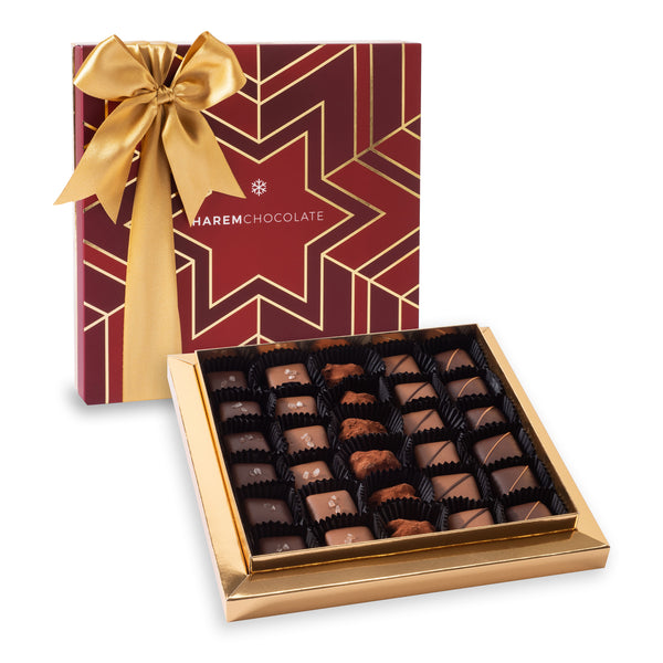 Mix Chocolate in New Year's Box
