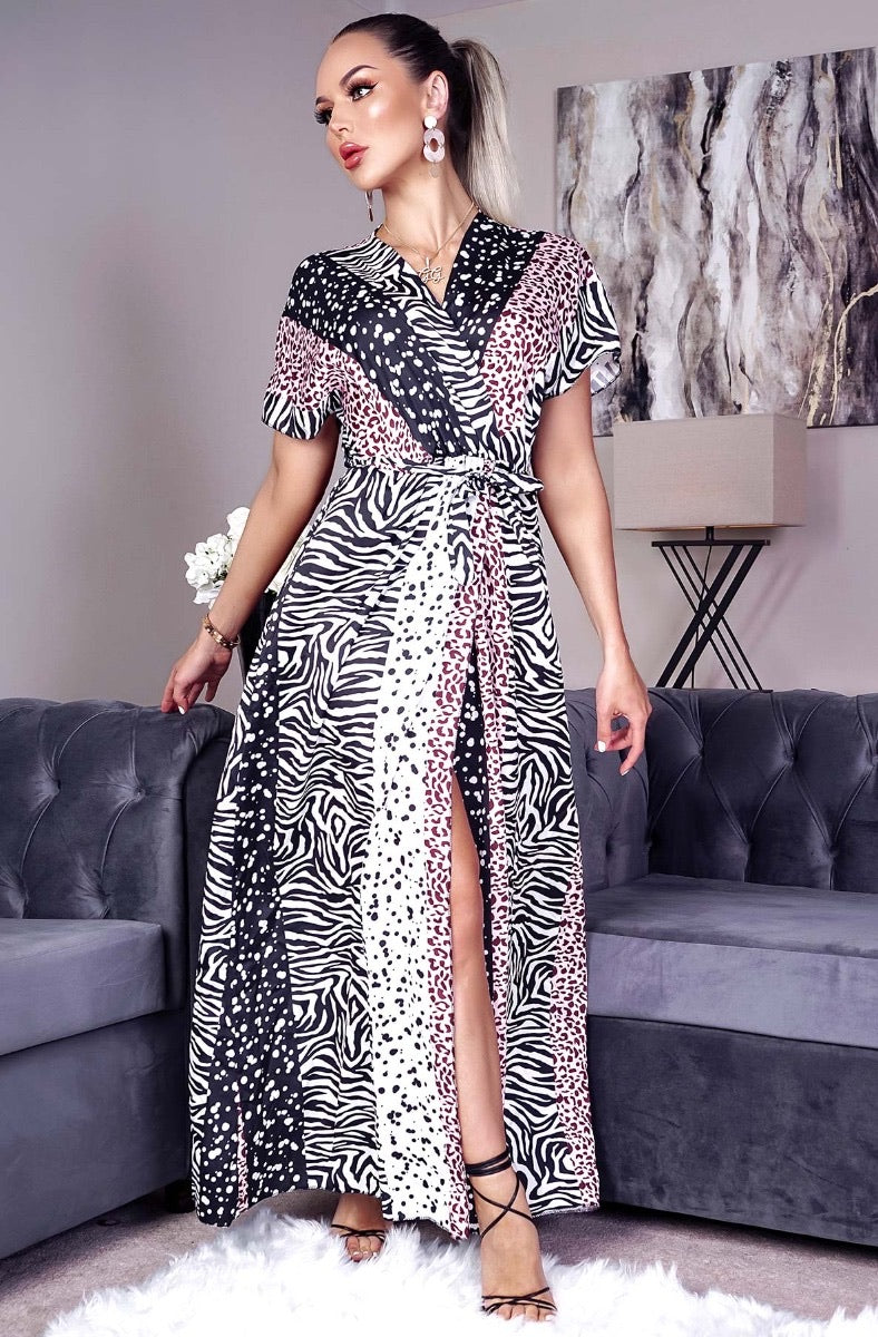 Animal Print Maxi - KC Dresses