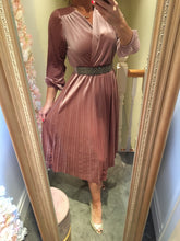 Velvet Pleat Dress - KC Dresses