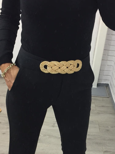 Gold knot belt - KC Dresses