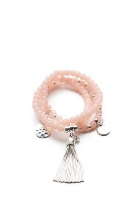 LOTTIE BRACELETS – BLUSH - KC Dresses