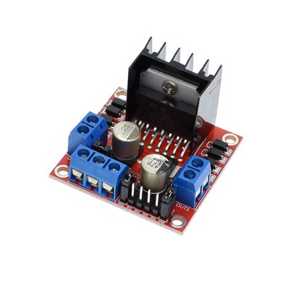 Dual H-bridge motor driver for Arduino