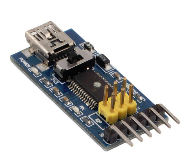 FTDI FT232RL USB to TTL serial adapter (3.3V or 5V selectable)