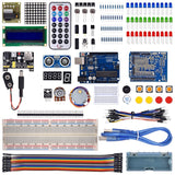 Breadboard Super Kit including Arduino and components