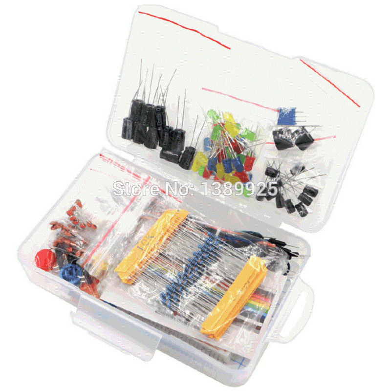 Breadboard starter kit for arduino includes components