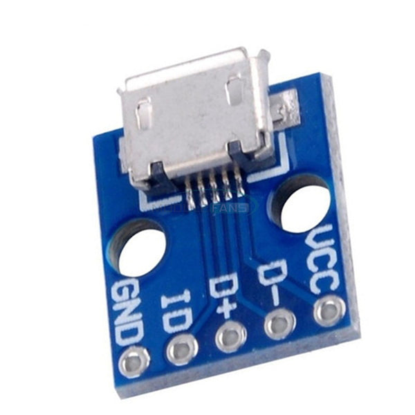 Micro-USB Connector Breakout