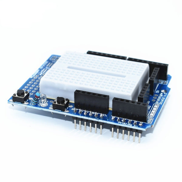 Prototyping shield for Arduino Uno