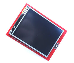 Colour LCD touch screen shield for Arduino UNO