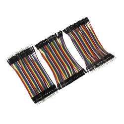Assortment of jumper wires, 120 pieces, choose length