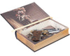 Gun Book Safe - The Constitution of the United States of America by The Founding Fathers (Leather-bound)