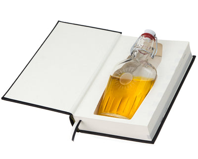 Alcoholics Anonymous (AA) (Leather-bound) (Flask Included)