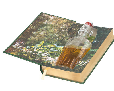 Irish Fairy and Folk Tales (Leather-bound) (Flask Included)