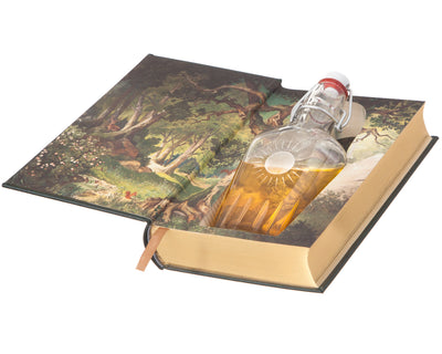 Grimm's Complete Fairy Tales (Leather-bound) (Flask Included)