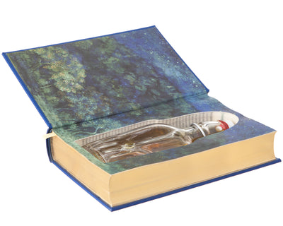 Grimm's Complete Fairy Tales (Leather-bound) (Blue) (Flask Included)