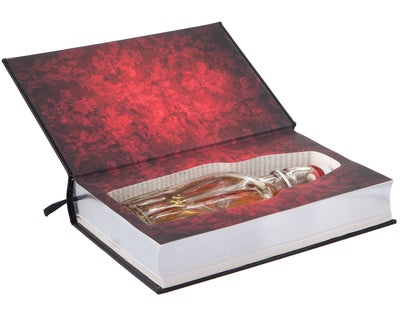 Dracula by Bram Stoker (Leather-bound) (Flask Included)
