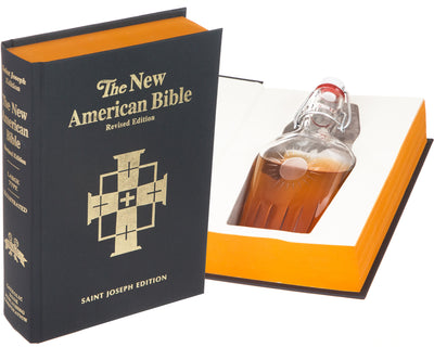 The New American Bible (Flask Included)