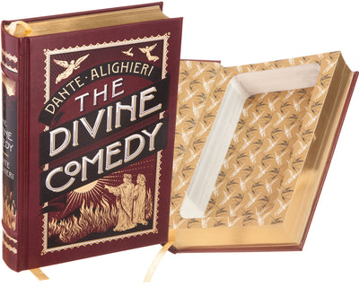 The Divine Comedy by Dante (Leather-bound)