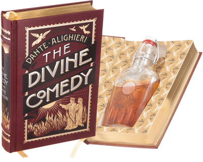 The Divine Comedy by Dante (Leather-bound) (Flask Included)