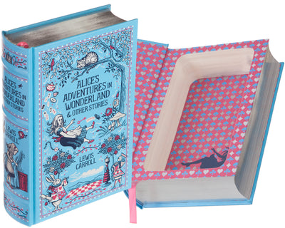 Alice's Adventures in Wonderland by Lewis Carroll (Leather-bound)