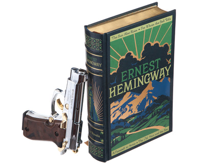Gun Book Safe - Ernest Hemingway: A Farewell to Arms (Leather-bound)