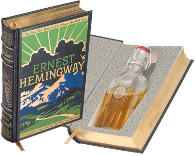 Ernest Hemingway (Leather-bound) (Flask Included)