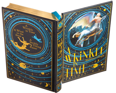 A Wrinkle in Time Trilogy by Madeleine L'Engle (Leather-bound)