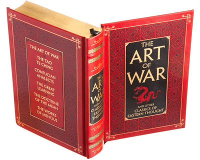 The Art of War by Sun Tzu (Leather-bound)