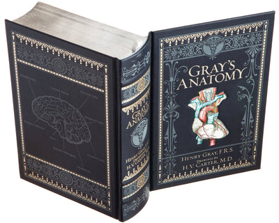 Gray's Anatomy (Leather-bound) (Flask Included)
