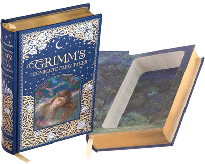 Grimm's Complete Fairy Tales (Blue) (Leather-bound)