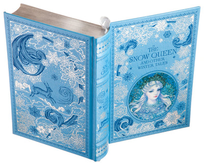 The Snow Queen and Other Winter Tales (Leather-bound) (Flask Included)
