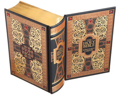 The Holy Bible - King James Version (Leather-bound)