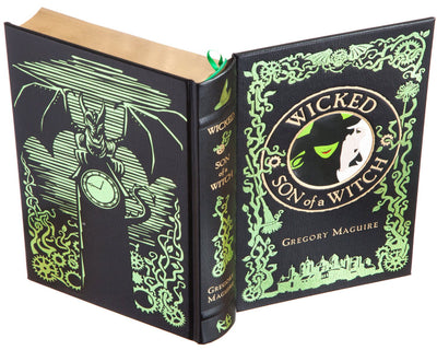 Hollow Book Safe: Wicked / Son of a Witch by Gregory Maguire (Leather-bound)