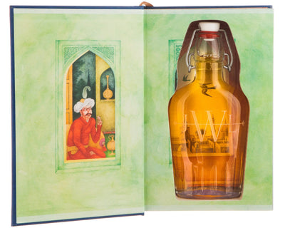 The Arabian Nights - Translated by Sir Richard F. Burton (Leather-bound) (Flask Included)